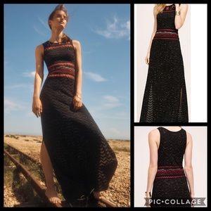 Anthropologie Rowan Maxi Sweater Dress