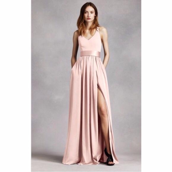 27be585405f WHITE by Vera Wang Blush Pink Dress size 0. M_5a306b912599fe680b007cdb