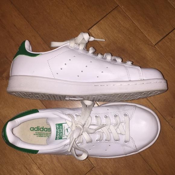 le adidas stan smith green dimensione 65 poshmark