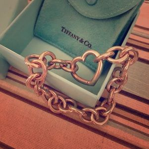 Tiffany & Co Heart Clasp Bracelet