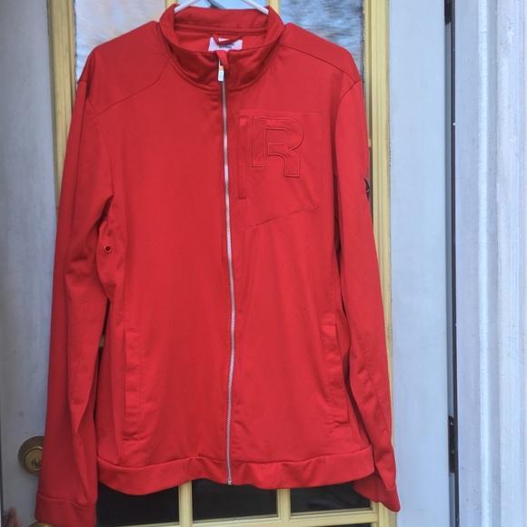 c6967368b2 Reebok Sz Large Men's Red Jacket