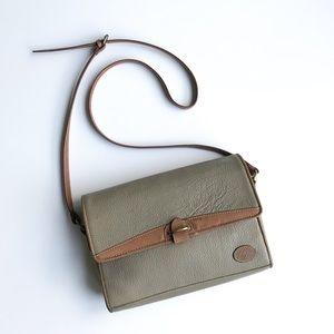 Liz Claiborne • leather envelope bag