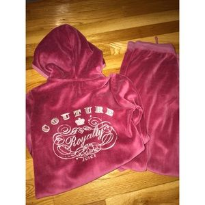 Juicy Couture Velour Track Hoodie