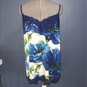 Lane Bryant adjustable straps floral cami 18/20