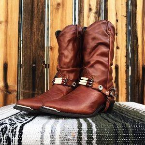 Vintage Festival Boots ✨🌵