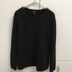 Forever 31 Black Knit Sweater