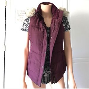 Other - Wine color vest.. bought on Posh!!