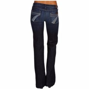 7 Seven For All Mankind Dojo Jeans Dark Wash
