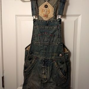 Free people overall dress.