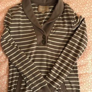 NWOT Banana Republic Stripe Sweatshirt Top