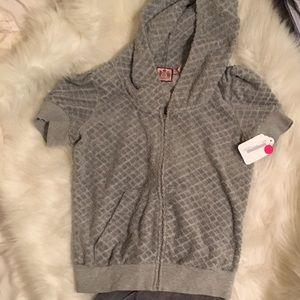 Juicy couture large short sleeved hoodie & pants