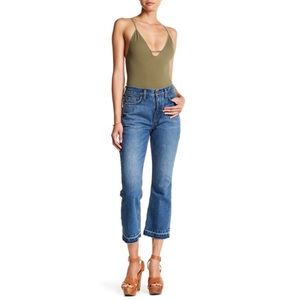 NWT Free People high rise cropped jeans. Sz 26 (2)