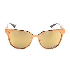 Tory Burch Flash Sunglasses - Gold Flash Mirror