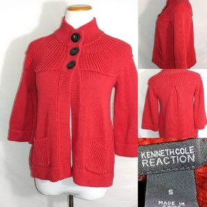 Kenneth cole reaction cardigan size small