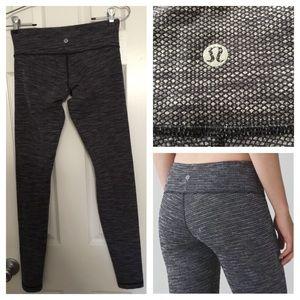 LULULEMON coco pique leggings size 4 new no tags