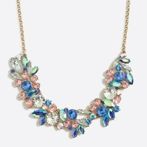 J. Crew Sparkle Shimmer Statement Necklace