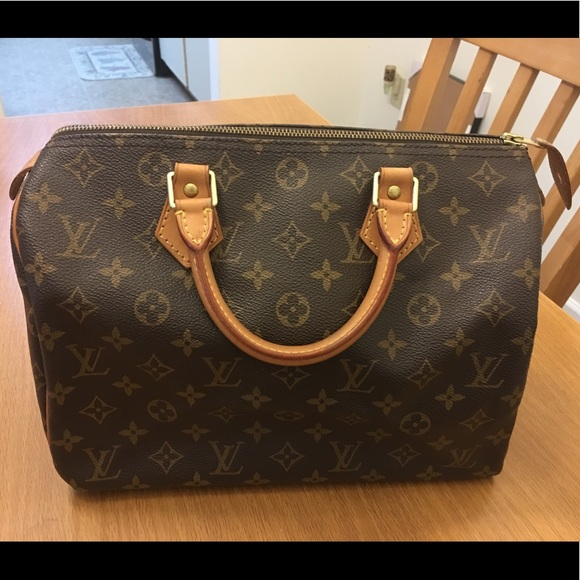309da3d86dcf Louis Vuitton Handbags - 100% AUTHENTIC LOUIS VUITTON SPEEDY 30