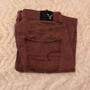 American Eagle Colored Jeggings