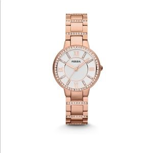 Fossil Virginia Rose-Gold Watch