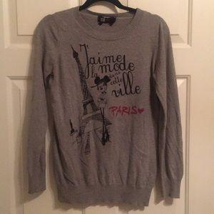 Gray Disney Forever 21 Sweater