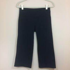Zella Black Capri Leggings Wide Leg 6