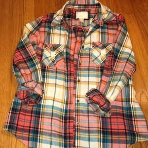 Forever 21 plaid shirt