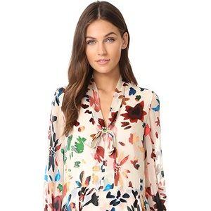 Alice + Olivia Moran Layered Dress in size XS