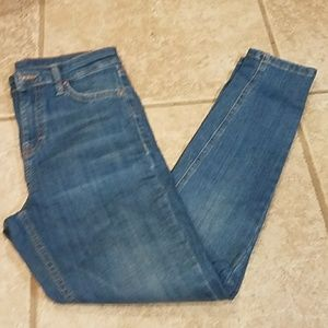 Topshop  blue jeans size 26 w/30 in inseam