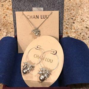 Chan Luu Swarovski & crystal necklace & earrings