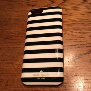 Kate spade iPhone 6/6s charging case