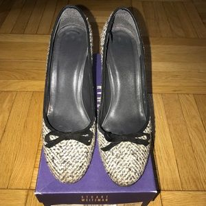 Stuart Weitzman tweed shoe