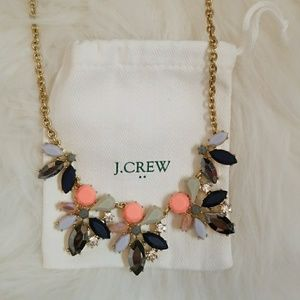 J. Crew Asymmetric Necklace
