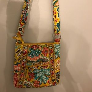 Vera Bradley crossbody bag in Provencal Yellow