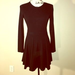 Theory Tillora long sleeve fit and flare dress 6
