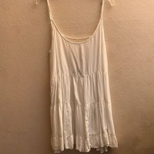 WHITE BRANDY MELVILLE JADA DRESS