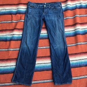 Colette straight leg jean