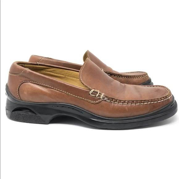 59f89066804 Cole Haan Other - Cole Haan Nike Air Santa Barbara Cognac Loafers