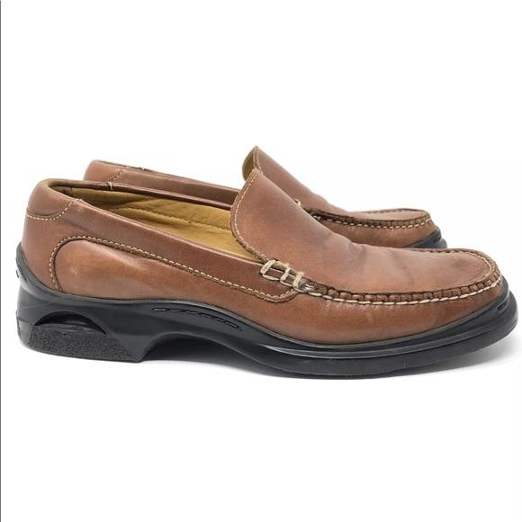 8b00911b48b Cole Haan Other - Cole Haan Nike Air Santa Barbara Cognac Loafers