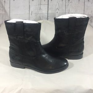 Frye Anna shortie boots black 7m