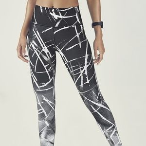 Fabletics High-Waisted Power-Hold Capri NEW XS