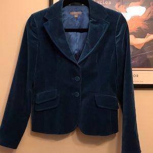 Ann Taylor lush velvet blazer