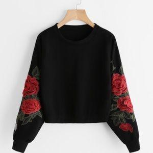 ASOS cropped sweatshirt :)