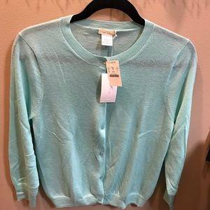 J CREW cardigan sweater- tags still on - sz L
