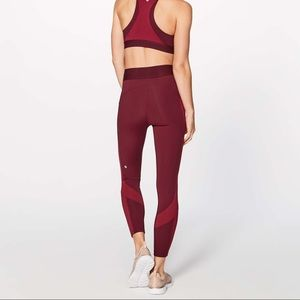 Lululemon red Box It Out Tight size 2- NWT