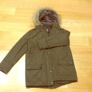 Banana Republic Parka fur hoody