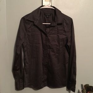 Dark Gray Banana Republic Button Down