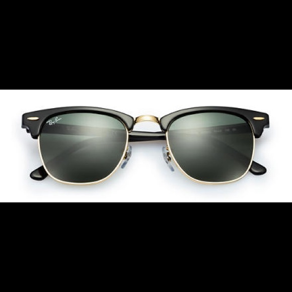 7a505f538d Ray Ban clubmaster 51mm Black frame G-15 lens