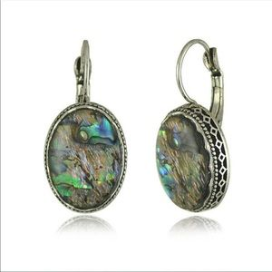 Jewelry - ‼️LAST PAIR‼️ 5⭐️RATED- Abalone Shell Earrings