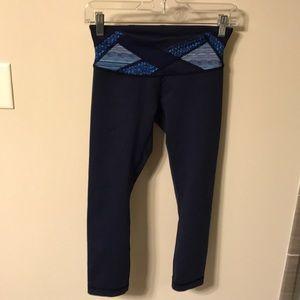 Lulu 3/4 length basic leggings