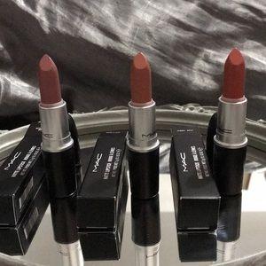 NEW MAC Nude Lipstick Bundle